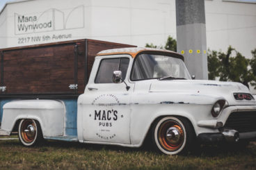 1957 GMC Pickup Truck Cocktail Bar